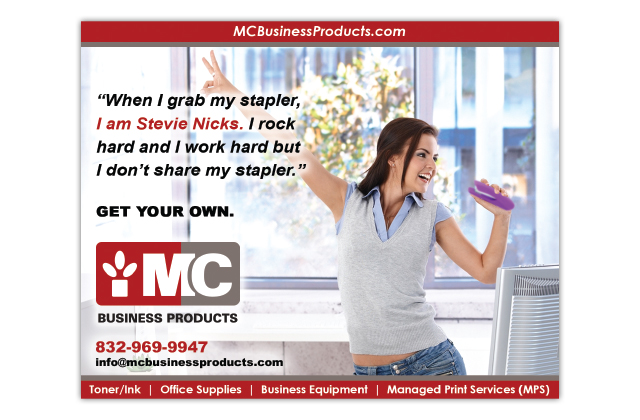 MC Business Products advertisement