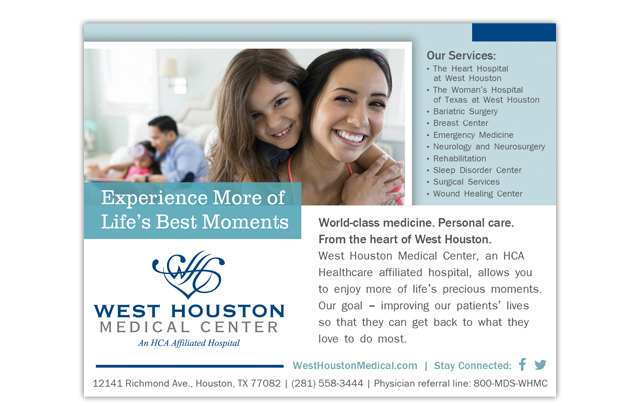 west houston medical center advertisement